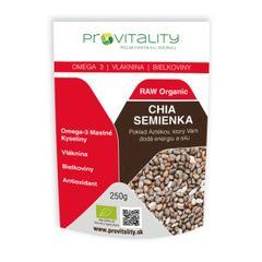Chia semienka Raw Organic