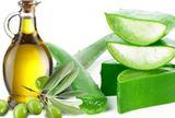 aloe vera a olivový olej