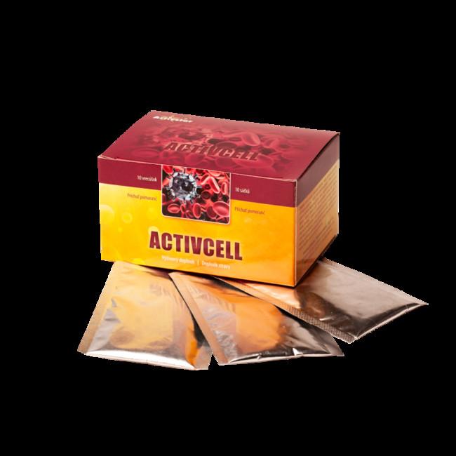 Activcell pomaranč - 10 sáčkov