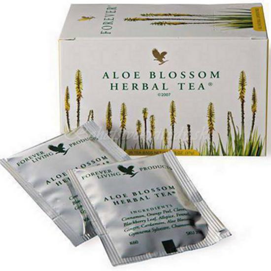 Aloe blossom herbal tea - detoxikačný čaj