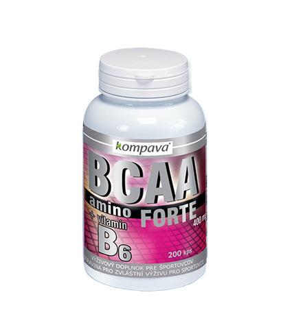 BCAA Aminokyseliny FORTE Kompava