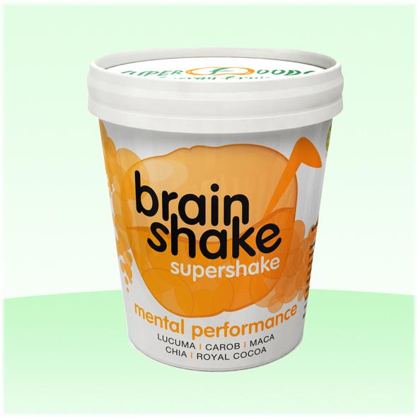Brain Shake na činnosť mozgu