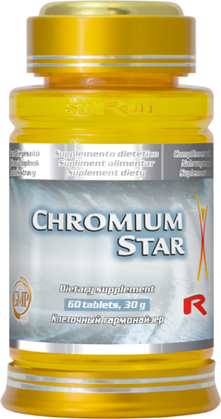 Chromium Star - chróm