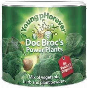 Doc Brocs Power Plants - alkalický zeleninový nápoj, 220g