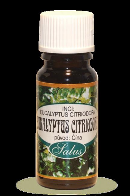 Eukalyptus citriodora - éterické oleje