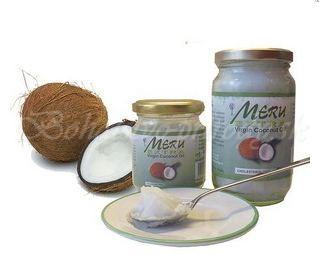 Extra panenský kokosový olej Meru, 200ml