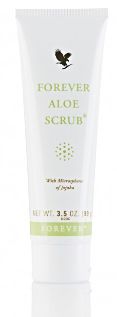 Forever Aloe Scrub - peeling na tvár