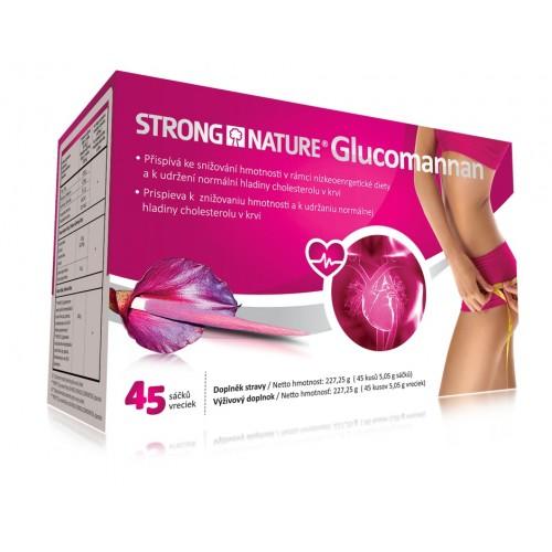 Glucomannan 45 vreciek - vysoký cholesterol