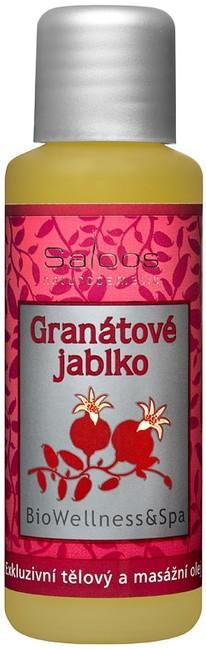 Granátové jablko - masážny olej