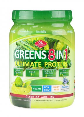 Greens 8 v 1 Ultimate protein 613 g