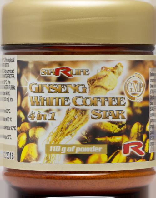GYNSENG WHITE COFFEE STAR 110g