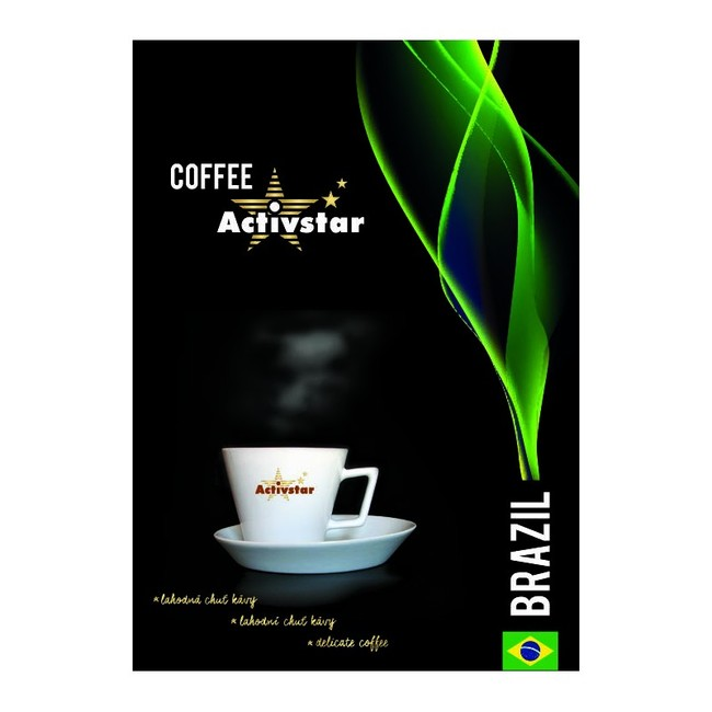 Káva Brazil - mletá