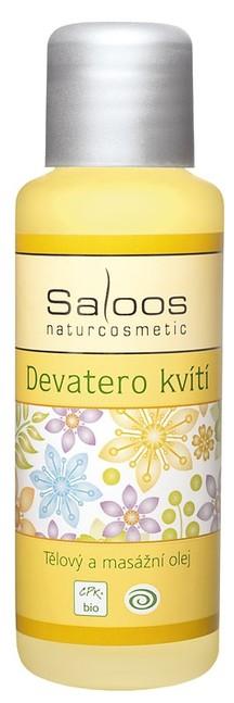 Masážny olej - Deväť kvetov