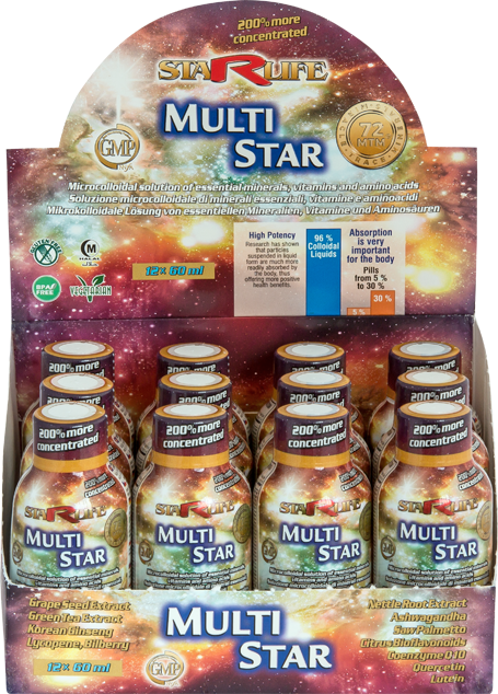 Multi Star 12x60ml