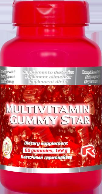 Multivitamin Gummy Star