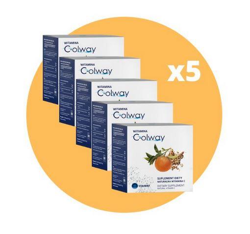 5x Vitamín C-olway - vitamín C