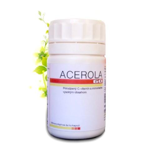 Acerola - výživové doplnky