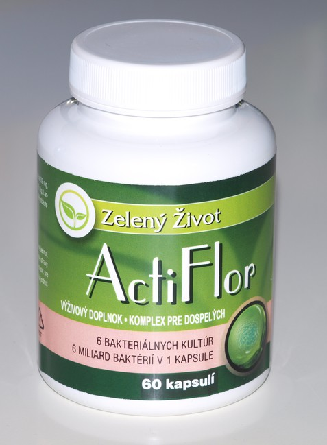 ActiFlor probiotiká a prebiotiká 60