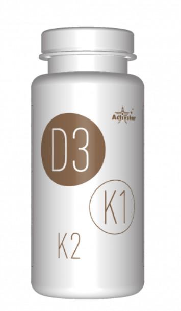 Activ D3, K1, K2 - vitamíny