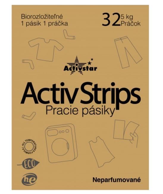 Activstrips - prácie pásiky na 32 praní