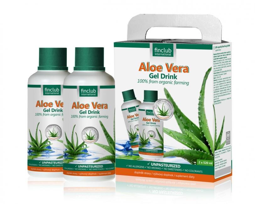 Aloe Vera organický džús deluxe