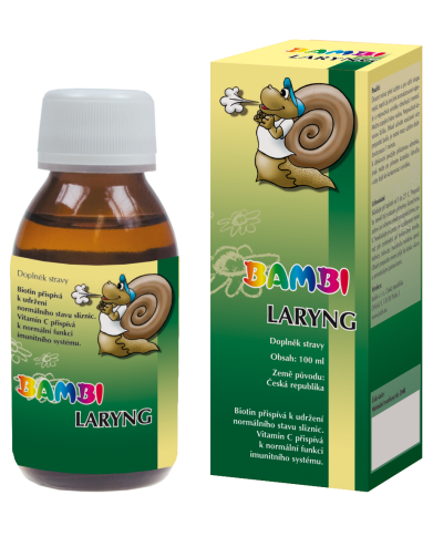 Bambi Laryng - Joalis - dýchavičnosť