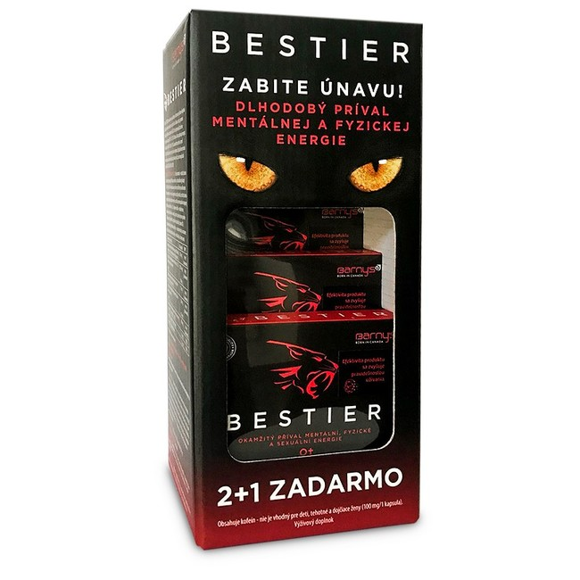 Barnys Bestier 2+1 zdarma (30kps)