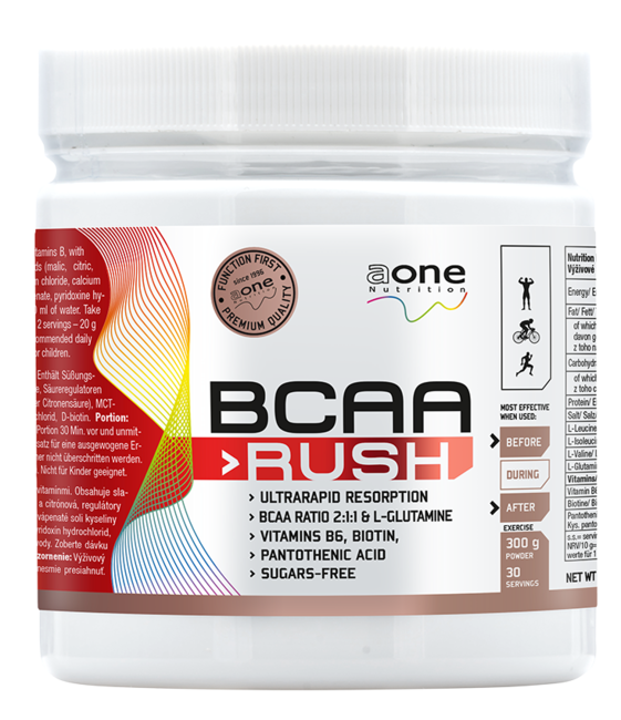 BCAA - Rush - Aminokyseliny