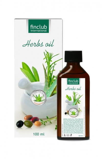 Bylinný olej s Aloe Vera