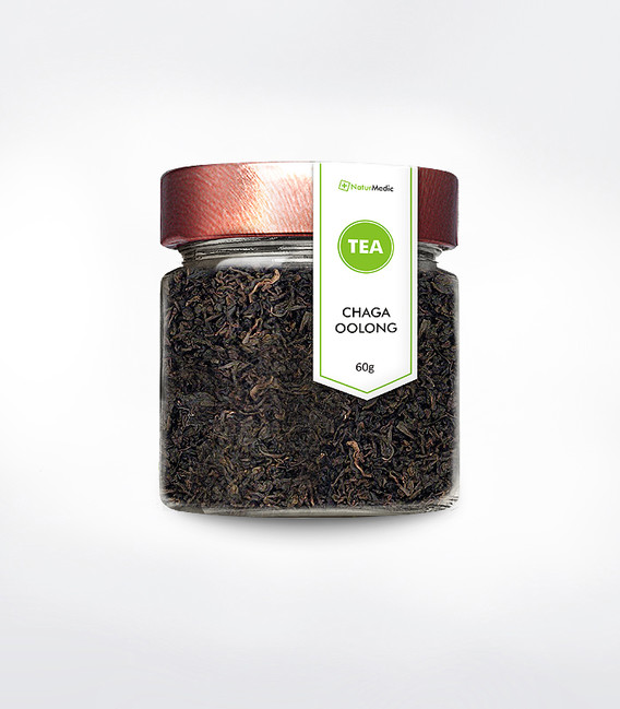 Čaga čaj - Chaga oolong čaj