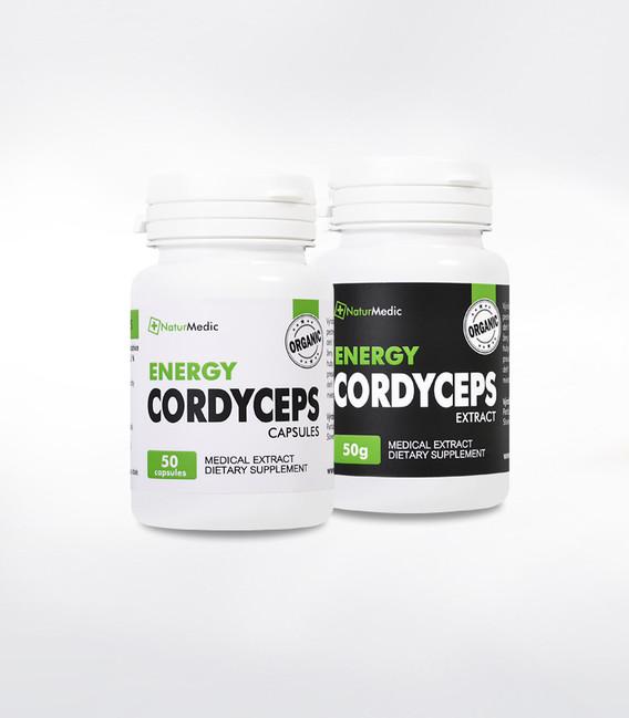 Cordyceps NaturMedic - imunita