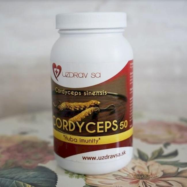 CORDYCEPS sinensis 50 - 100g prášok