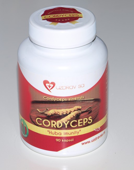 CORDYCEPS sinensis, 90 kapsúl