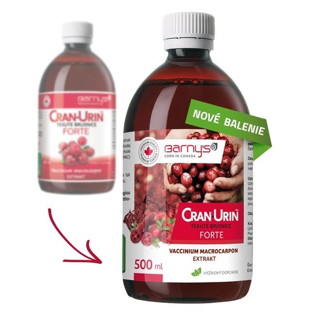Cran urin forte - močové cesty 0,5l