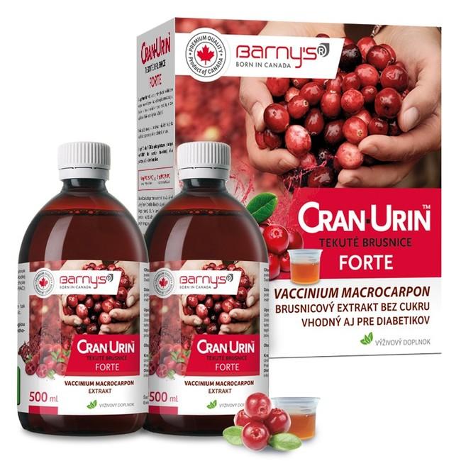 Cran urin forte-močové cesty 2x0,5l