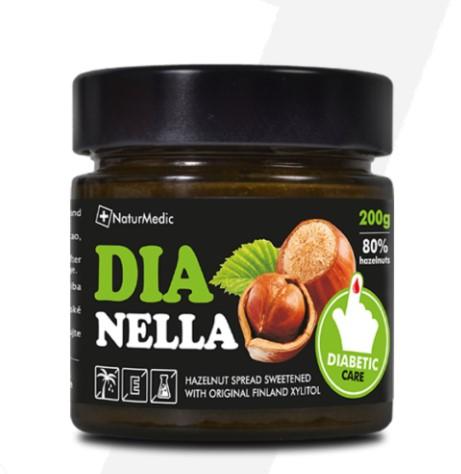 Dianella - oriešková nátierka pre diabetikov