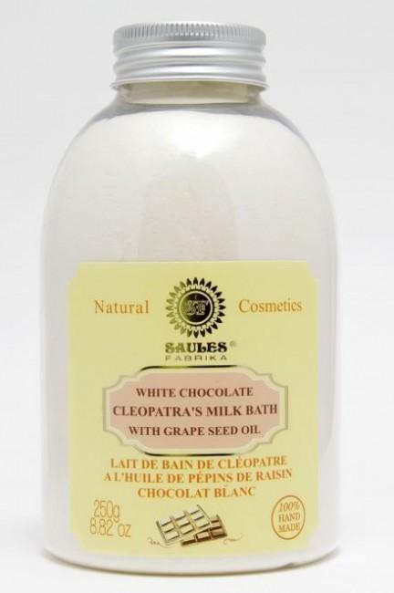 Kleopatrin mliečny kúpeľ - biela čokoláda, 250g