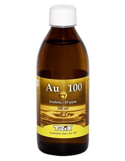 Koloidné zlato Au100 300 ml 10 ppm