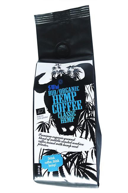 Konopná káva BIO 250 g, Classic Hemp