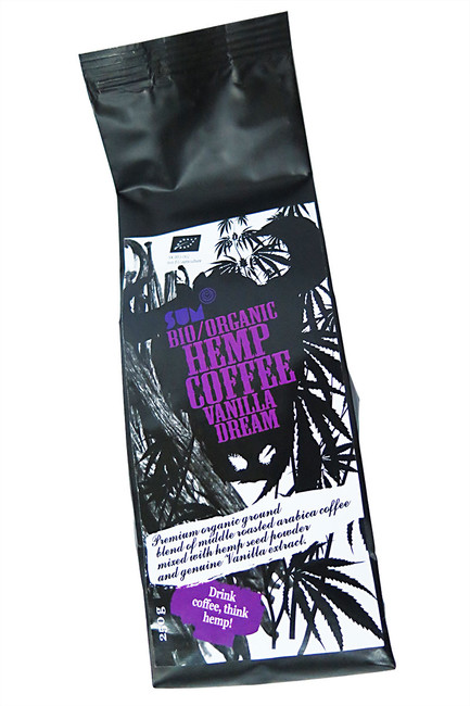 Konopná káva BIO 250 g, Vanilla Dream