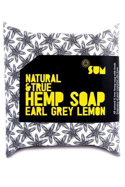 Konopné mydlo Earl Grey Lemon Natural&True