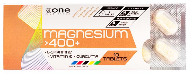 Magnesium 400+ žuvacie tablety