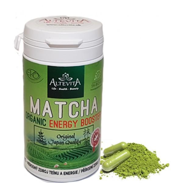Matcha ENERGY - kapsule 80ks