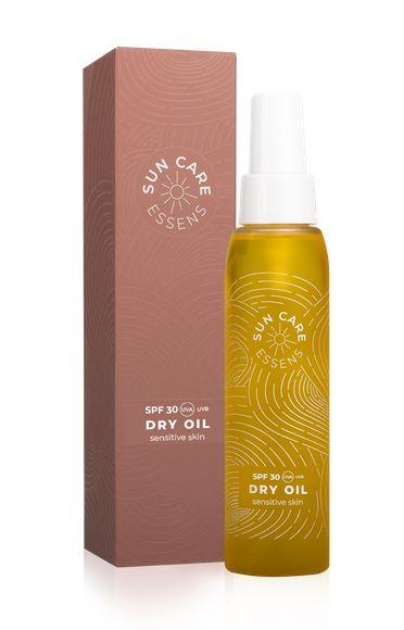 Olej na opaľovanie - DRY OIL SPF 30