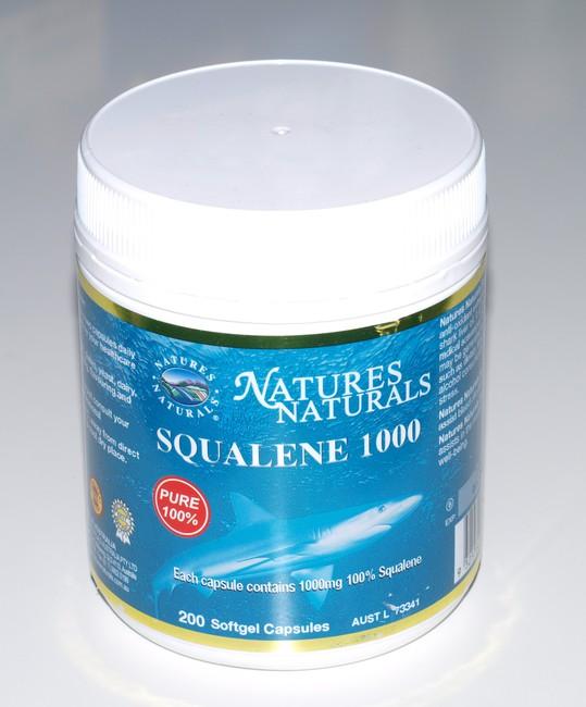 Olej zo žraločej pečene - SQUALENE 1000 - 200 kapsúl