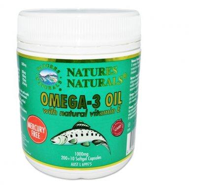 Omega 3 - mastné kyseliny + vitamín E