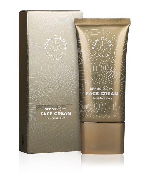 Opaľovací krém na tvár - Face cream spf 50+