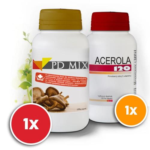 PD Mix + Acerola - podpora imunity