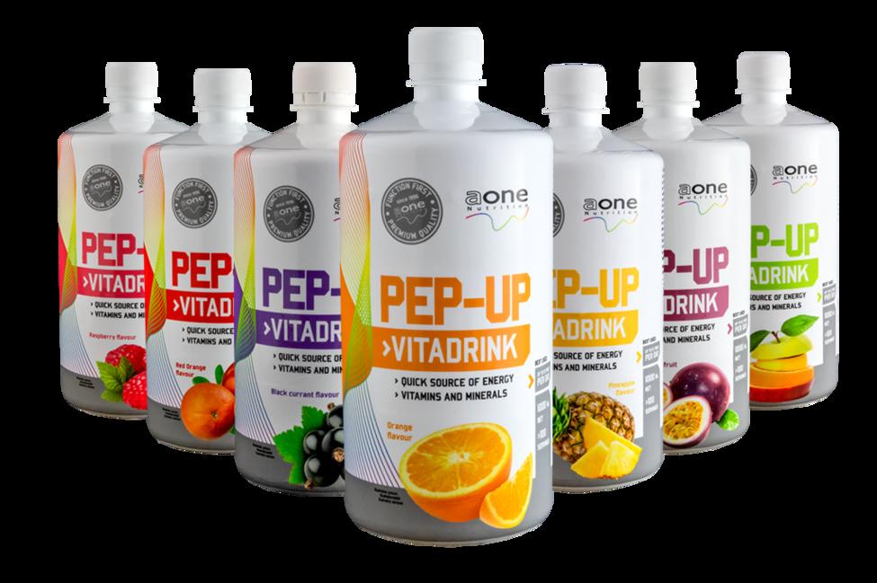 PEP UP - hypotonický nápoj