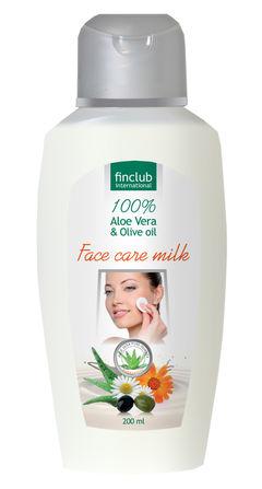 Pleťové mlieko Aloe Vera s olivovým olejom